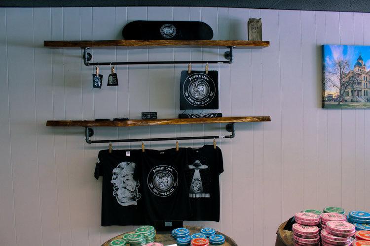 a picture of denton parlor merchandise