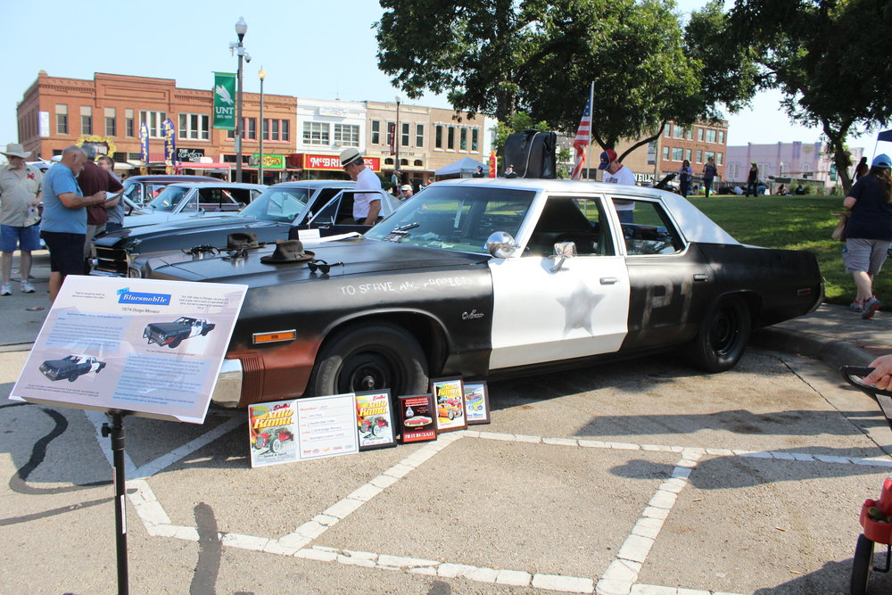 a picture of the police car from the blues brothesr