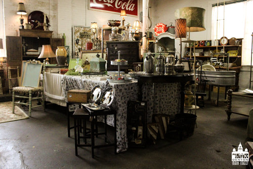 a picture on the inside of the vintage shop.jpg