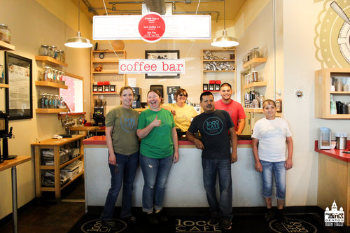 a picture of the loco cafe team