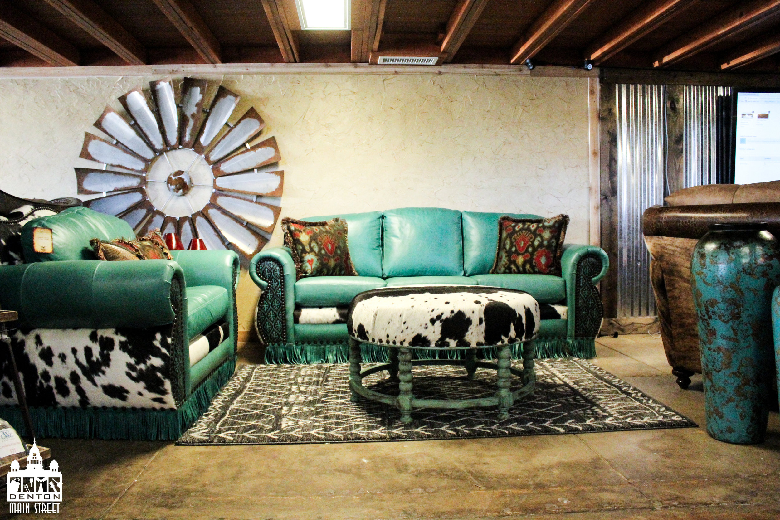 Stop by Cowhide Western Furniture and enjoy 10% off the entire store all HOH weekend long.