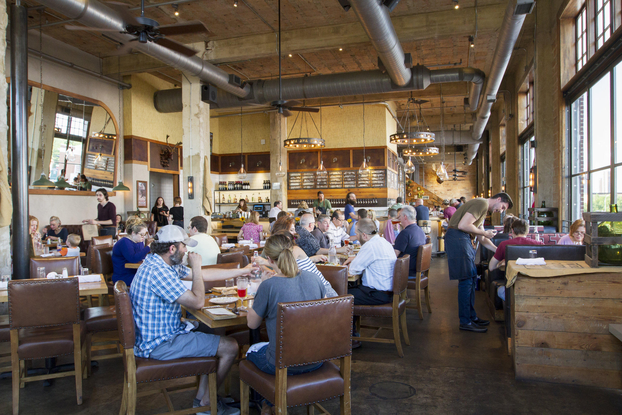 Dine Locally. - No matter where you look, Downtown Denton has a unique dining experience waiting for you that has something special in store for everyone in the family. Enjoy DFW's favorite burger at Barley and Board, or a unique cocktail and tapas from 940's.