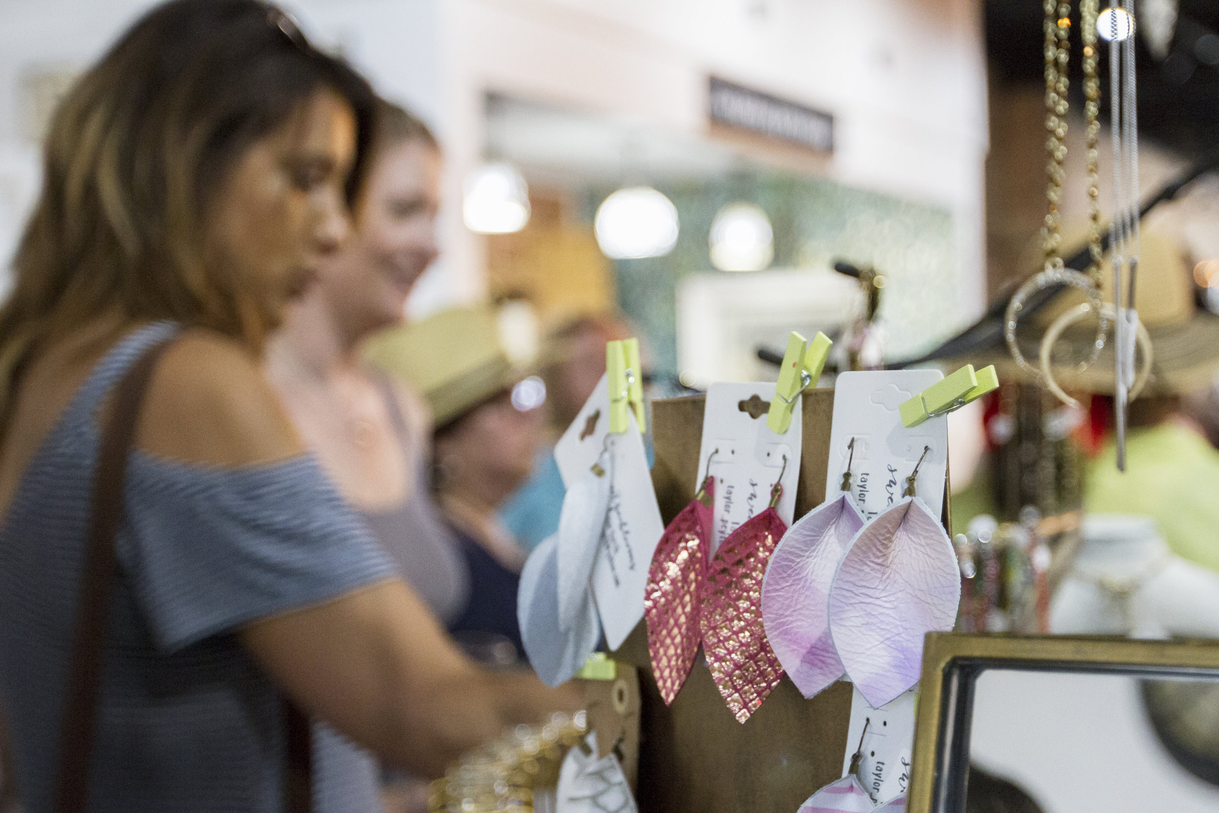 Shop Locally. - Our downtown merchants work hard daily to bring to our community the best selection of quality goods, often handmade right here in Denton or Denton County. Shop local, and you'll discover something unique and one of a kind.