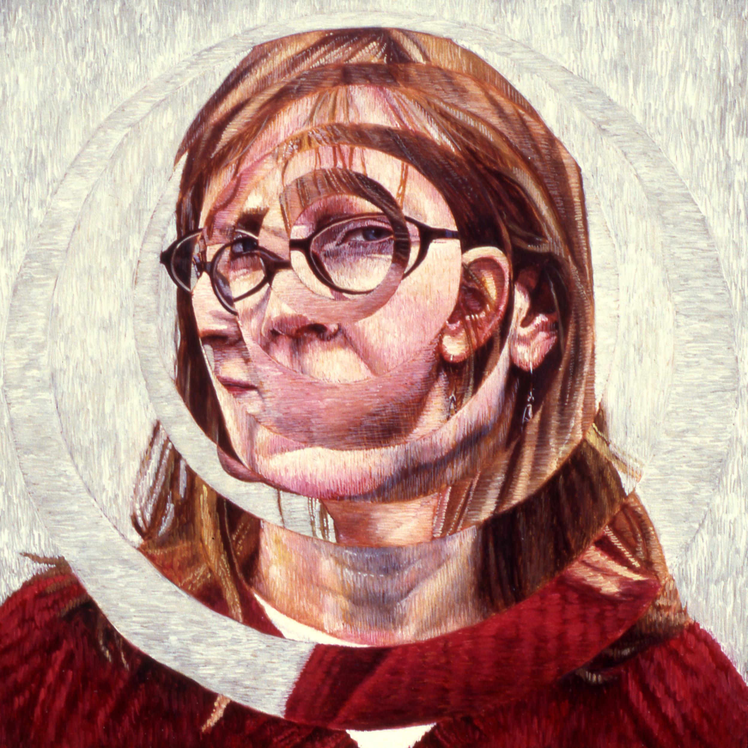 """Ann, 2002 Oil on Board, 12"""" x 12"""""""