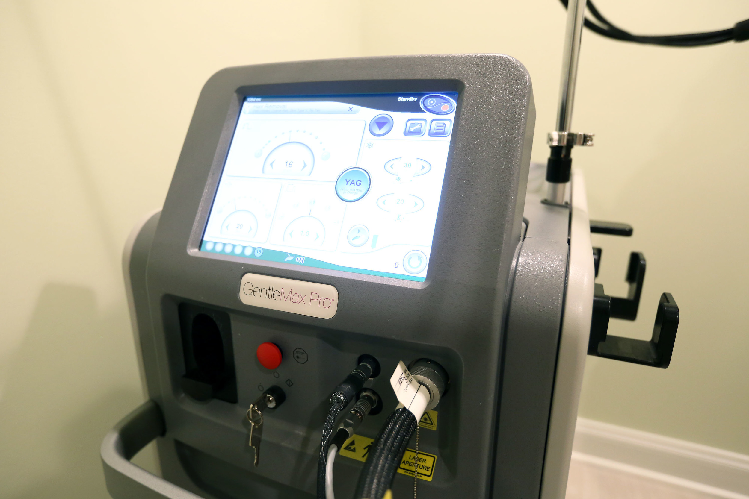 laser hair removal gentle max pro