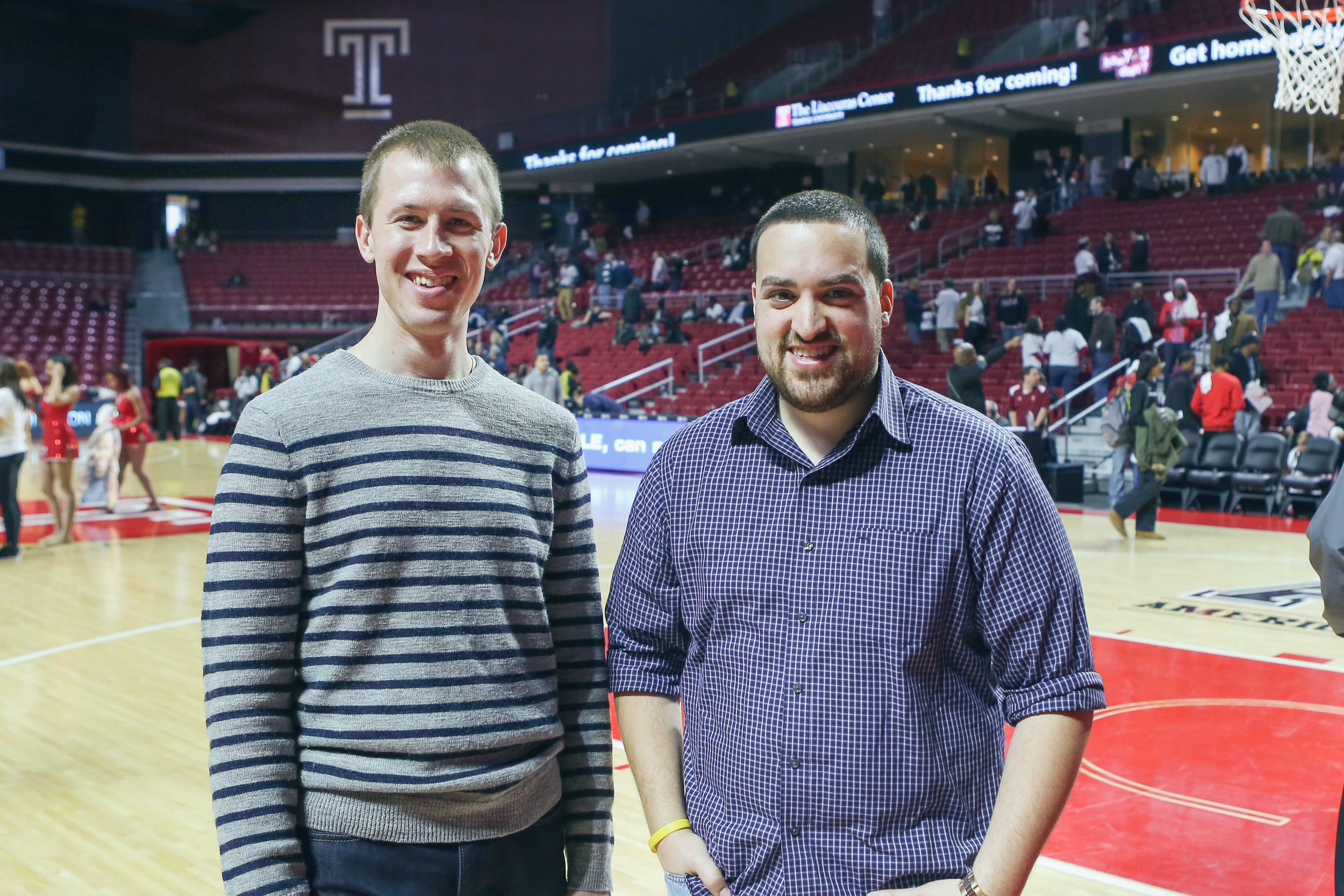 Patrick and Rob got their big break covering basketball for their alma mater, Temple University. Their weekly, 30-minute TV show on Comcast SportsNet would help them launch 20/20 Visual Media.