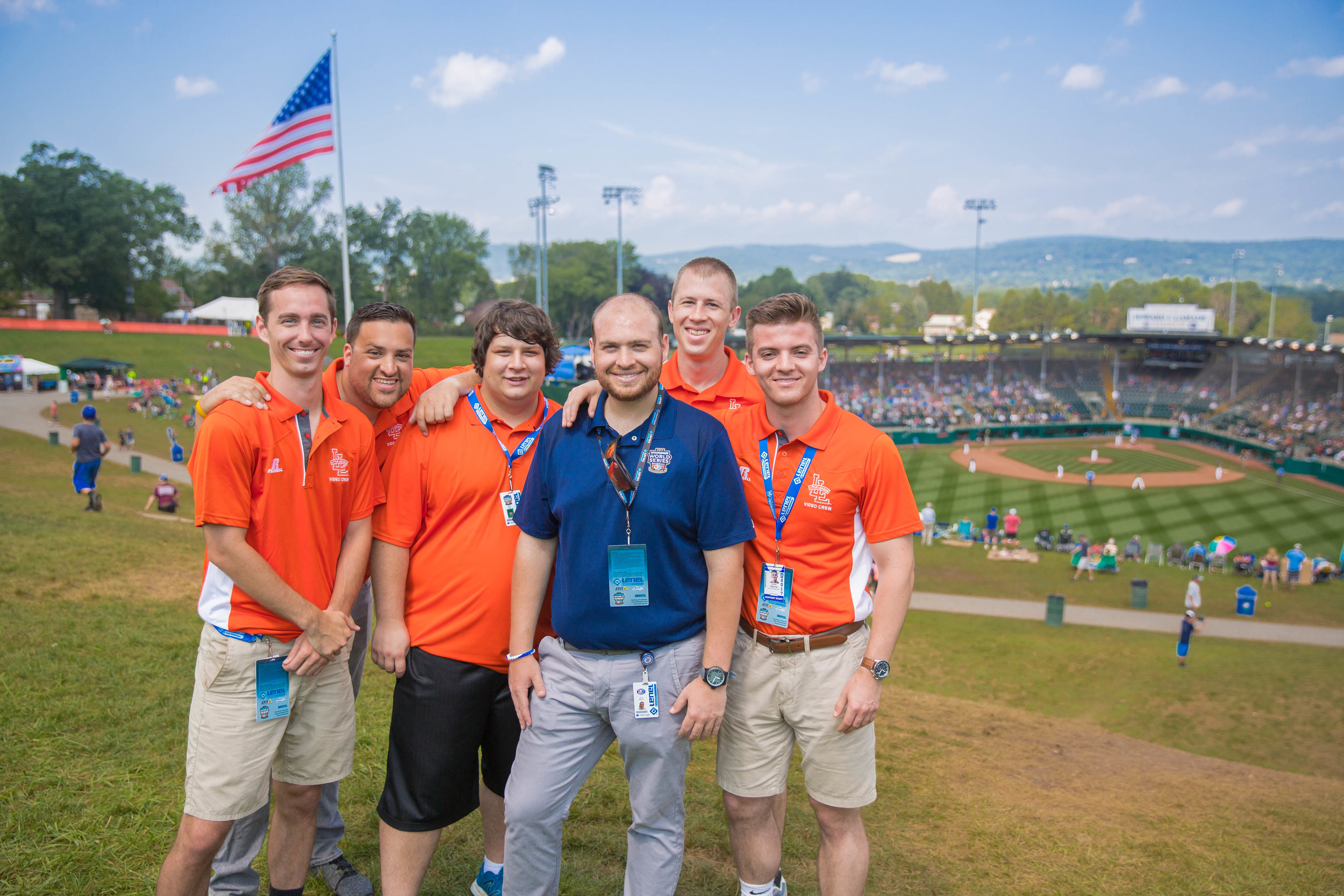 Special thanks to our incredible team for an unforgettable week in Williamsport!