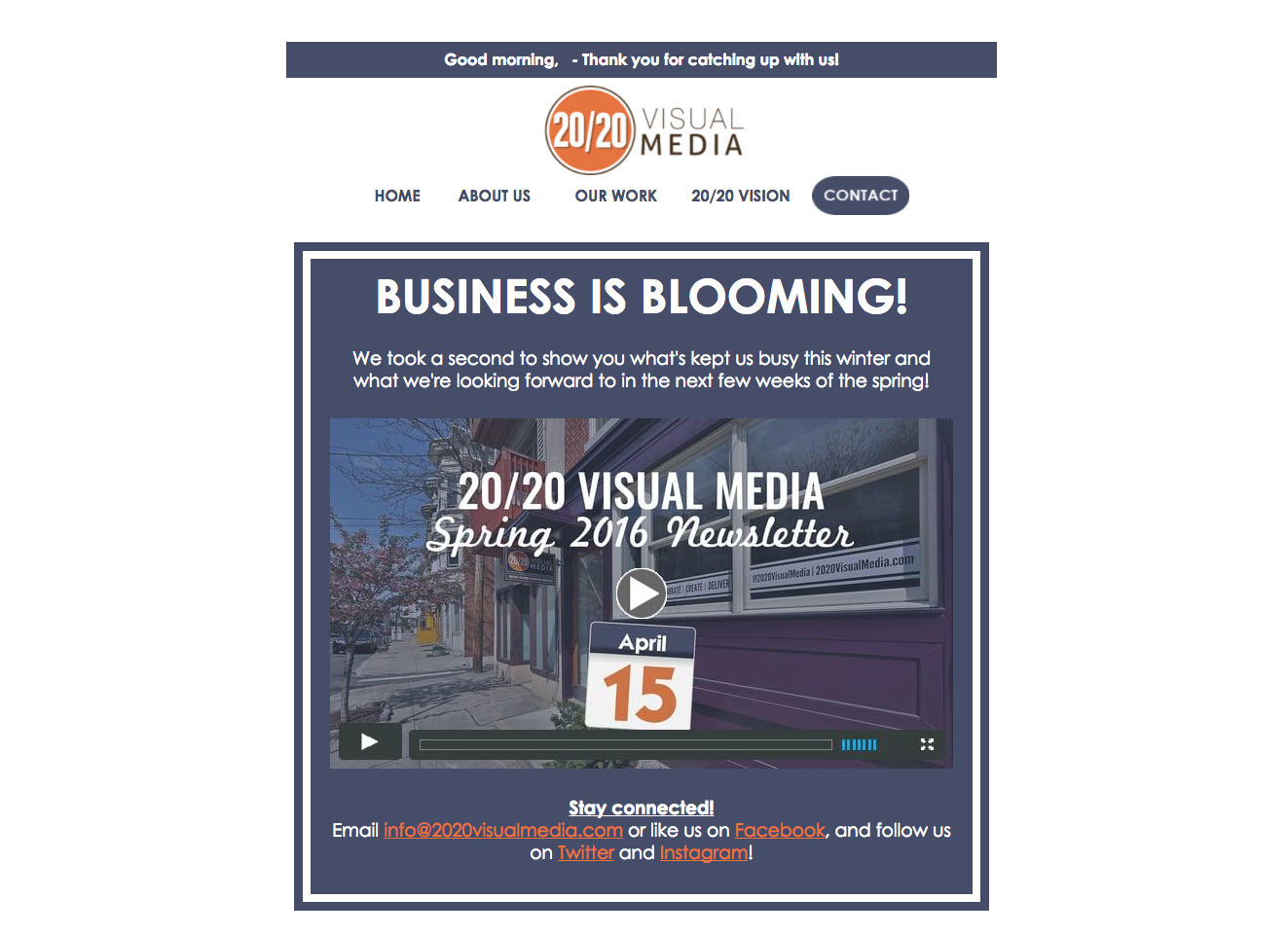 We've used video in our email newsletter for the past two years.  Our own click through rates rose by 75%.