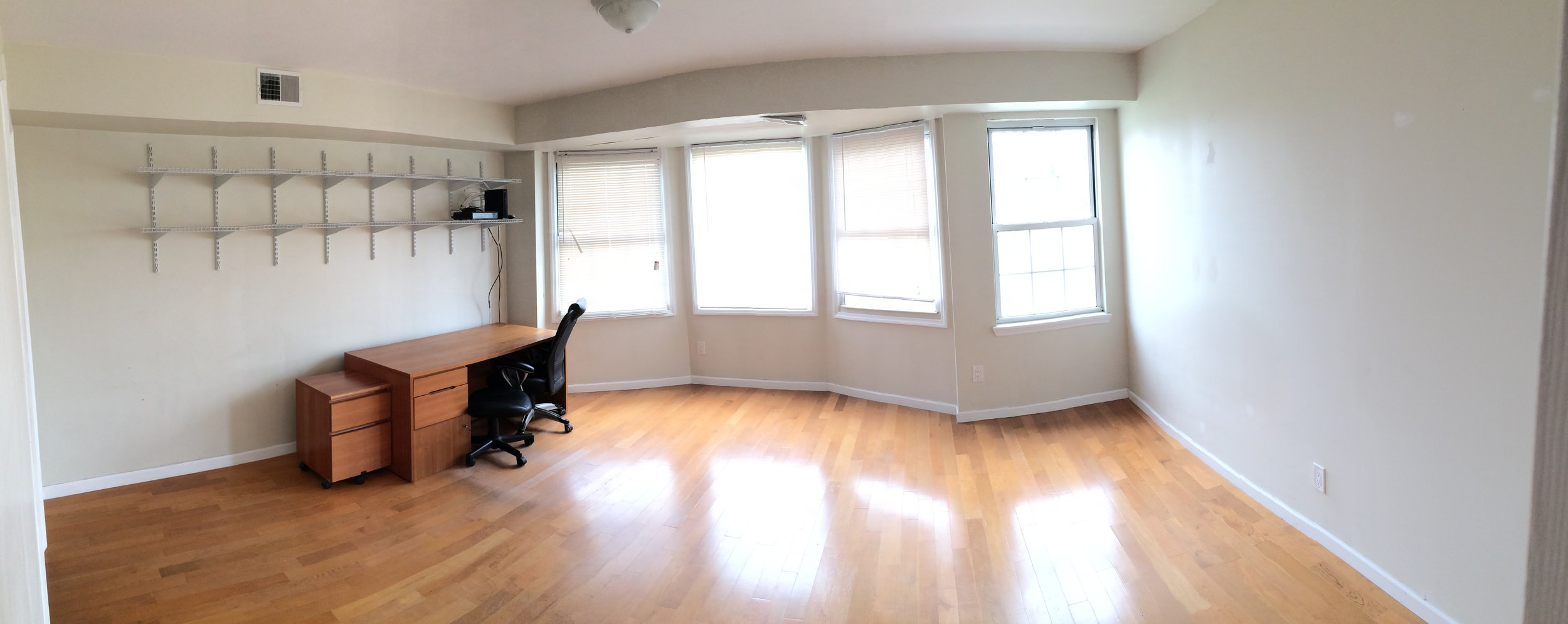 Where it all got started - Patrick's first apartment bedroom. Amazing to think how far 20/20 Visual Media has come.