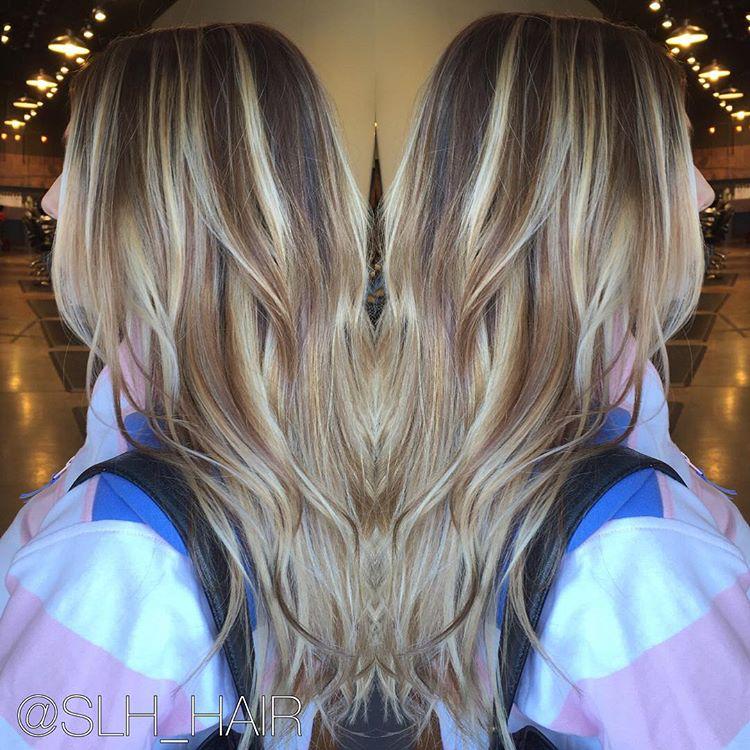 Sombre hair color