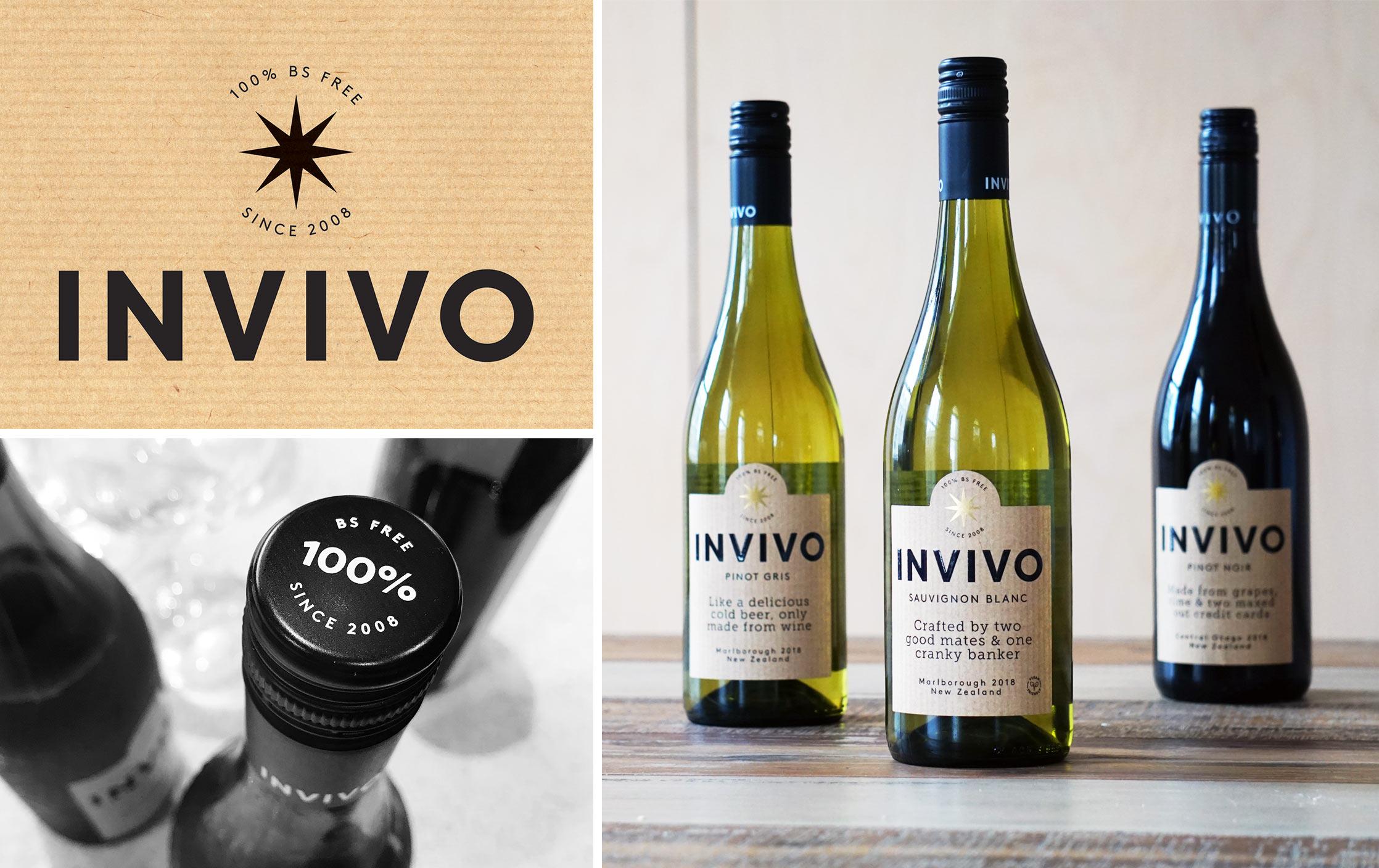 INVIVO Wines - Brand Design