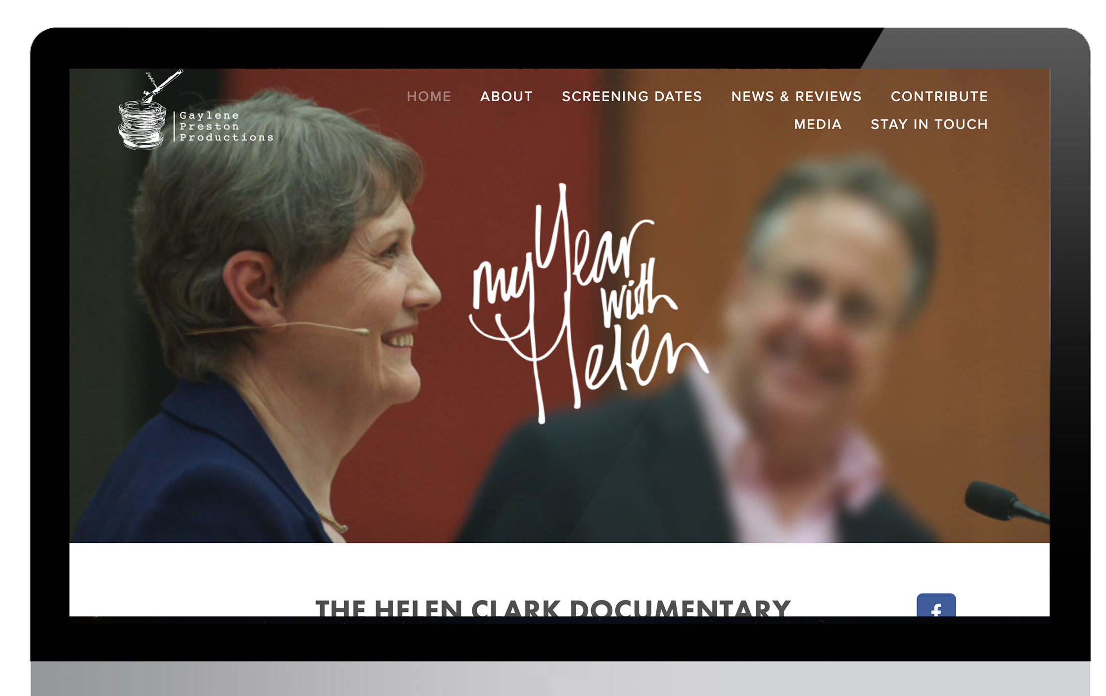 My Year with Helen - website