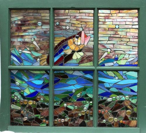Julie Koch - Repurposed, Glass