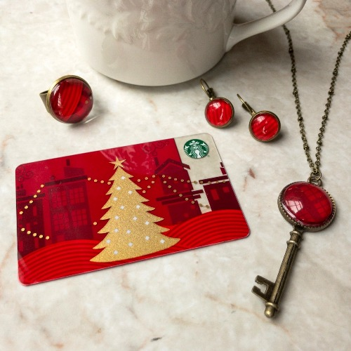 Artist Charity Stewart makes JEWELRY from castoff plastic gift cards