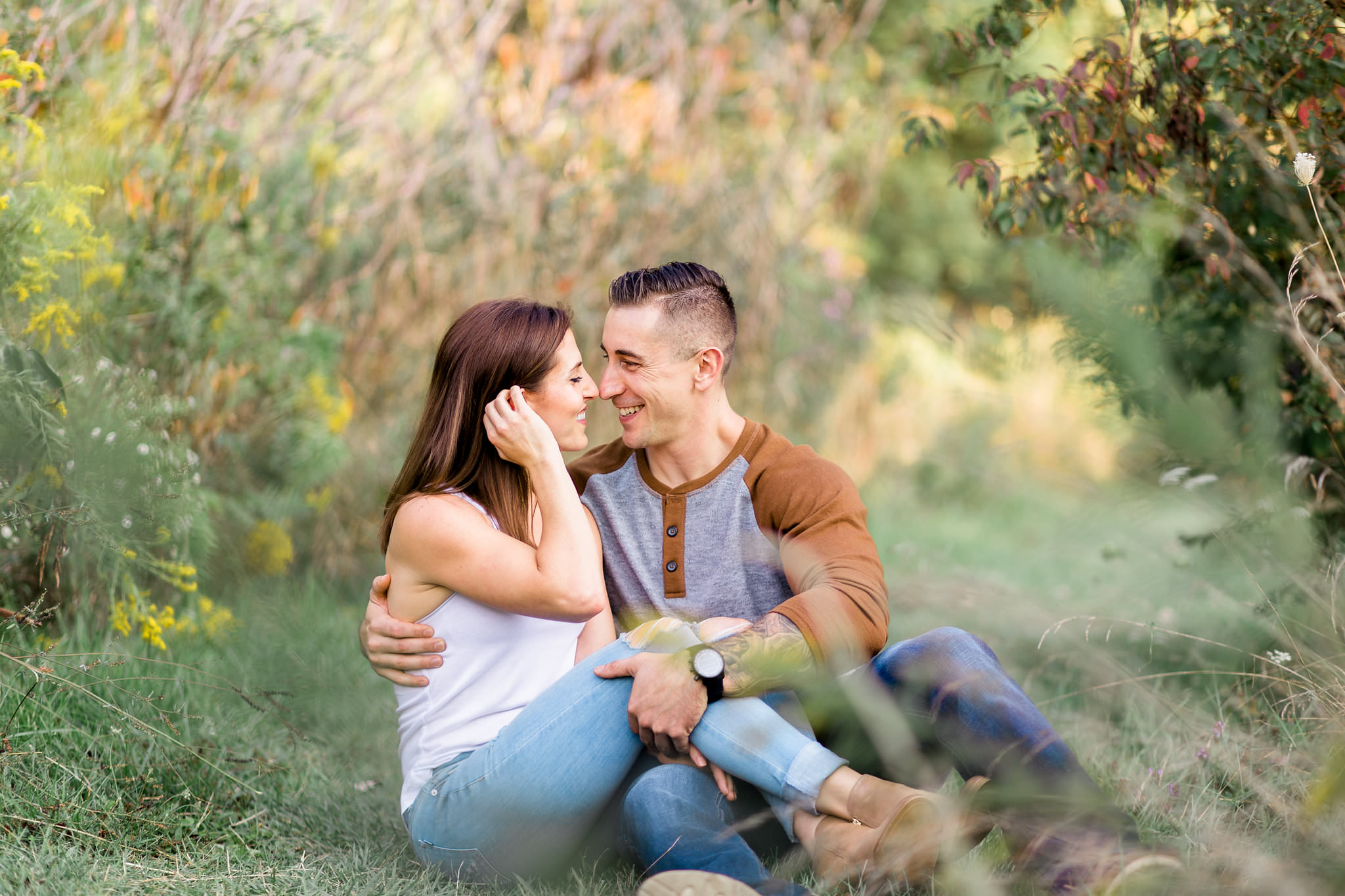 windsor ontario engagement shoot