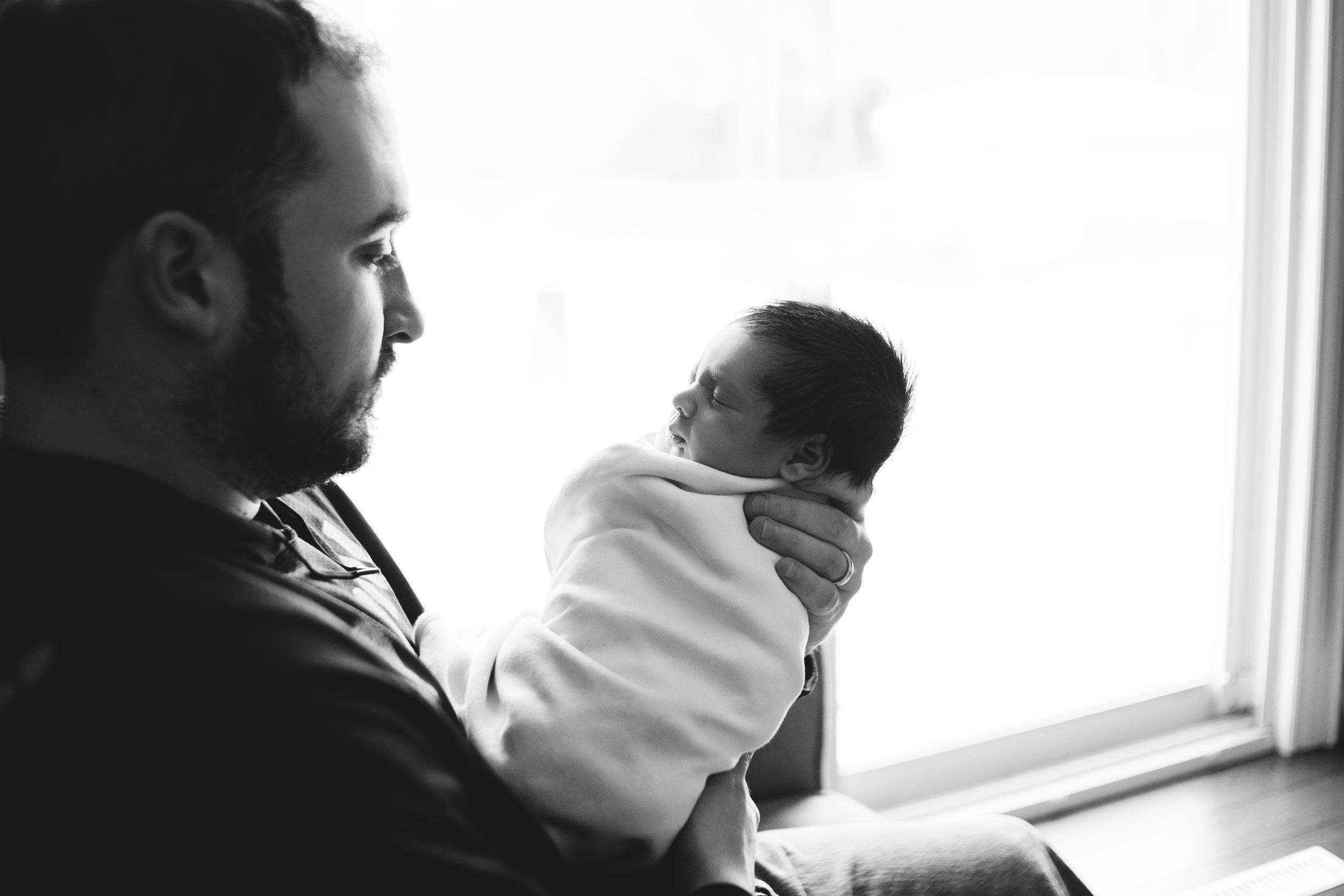 In-Home Lifestyle Newborn Shoot