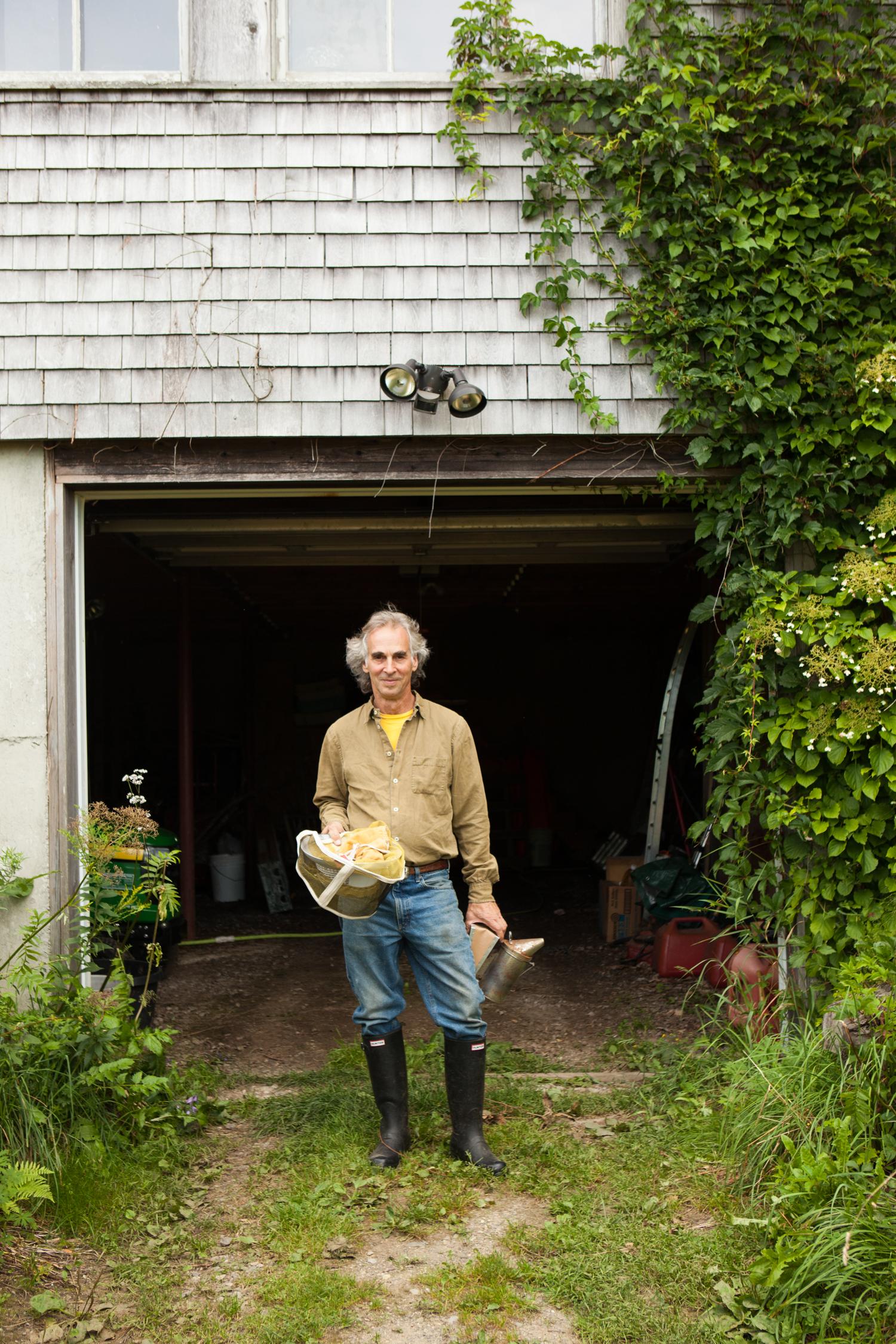 Beekeeper, Maine.