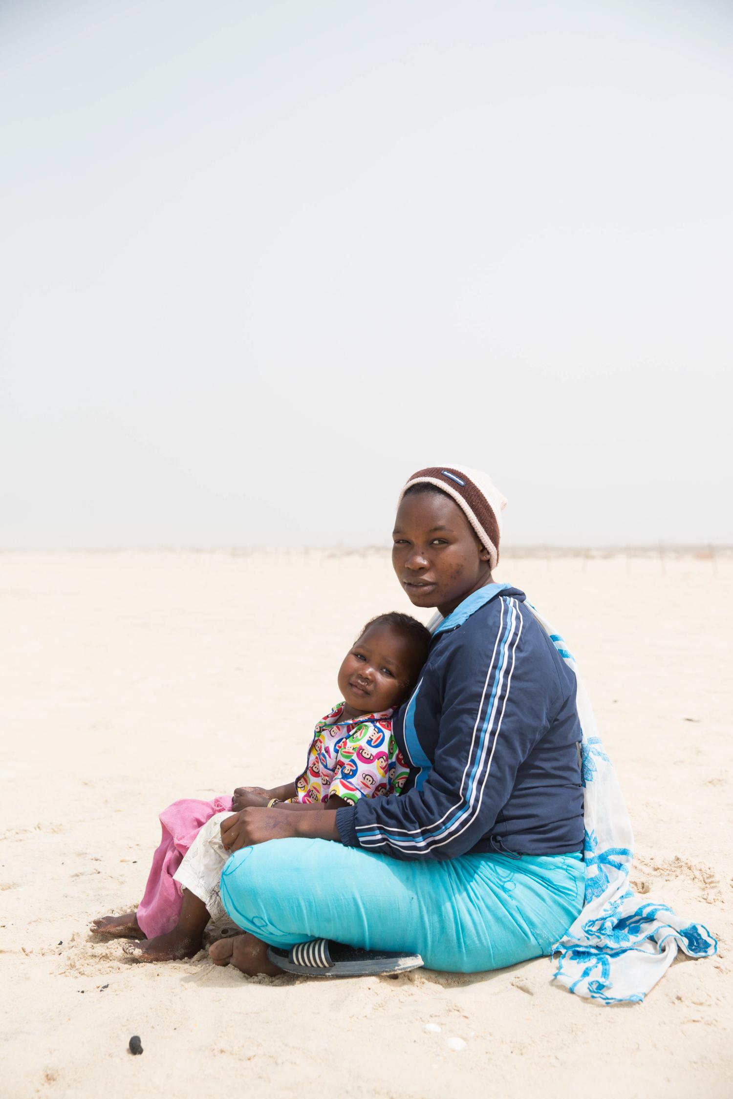 Mother and daughter- Ndar, Senegal