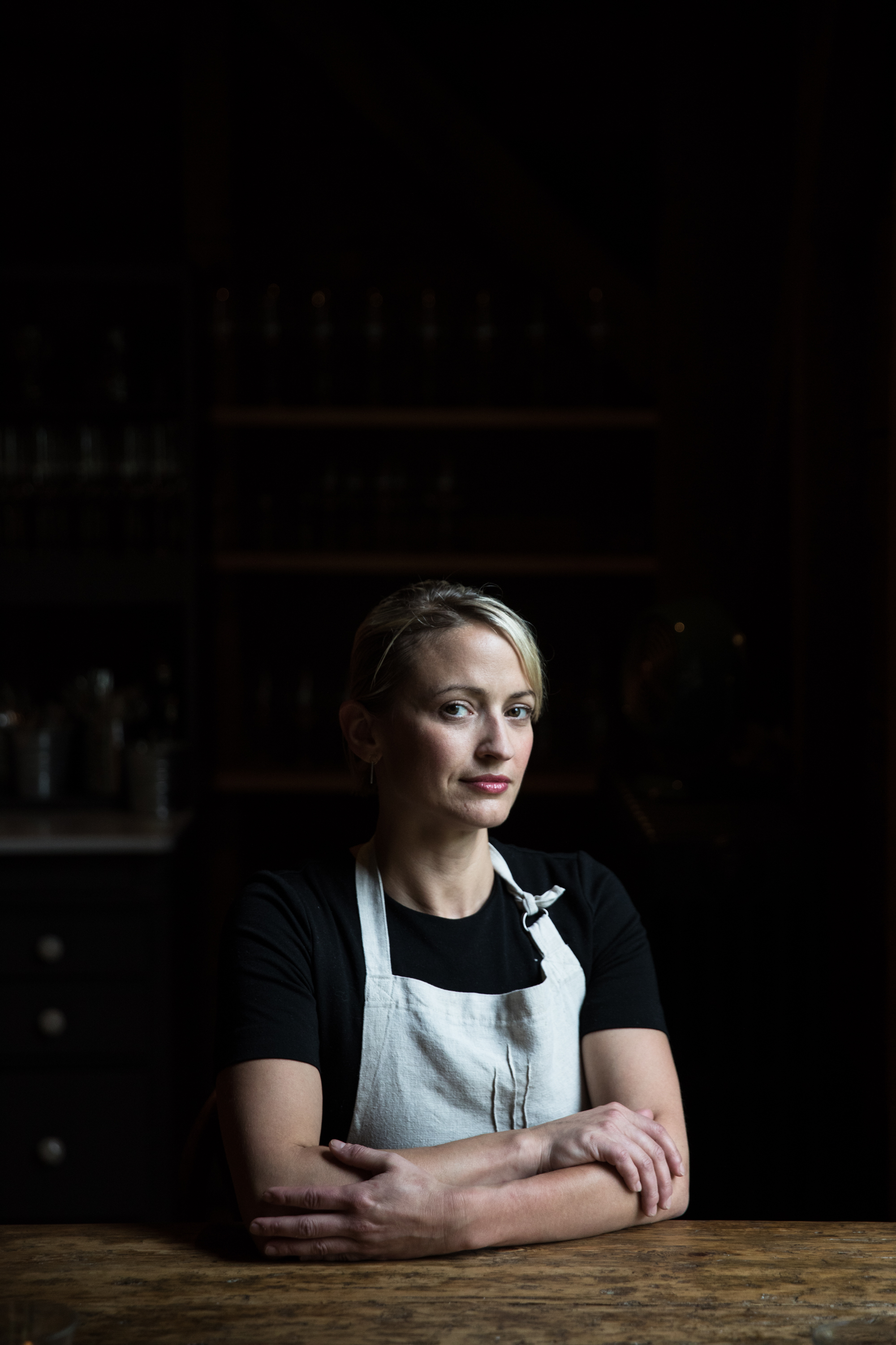 Chef Erin French of the Lost Kitchen.