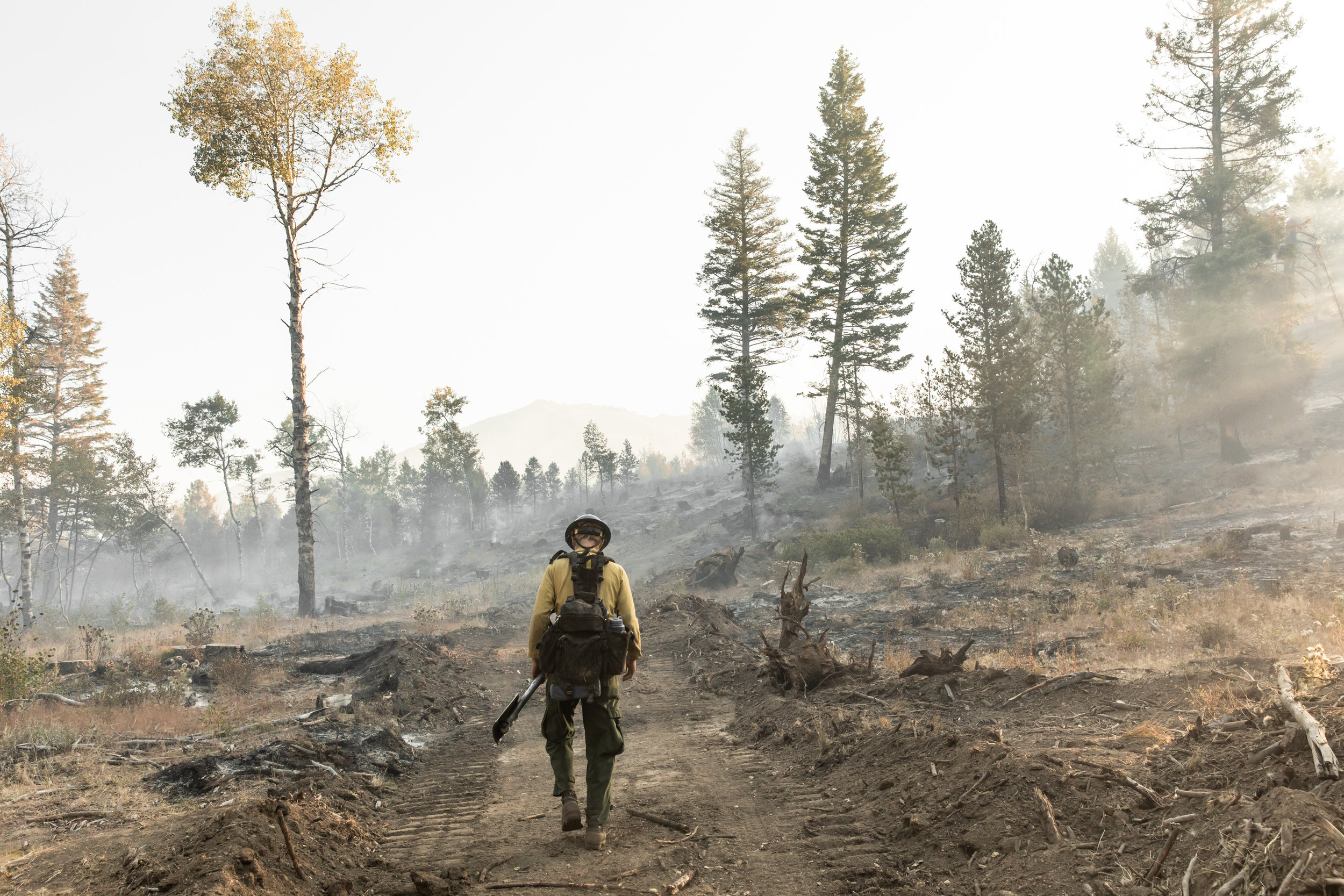 When I look at climate models, I see wildfires. It's the warmer temperatures. The earlier onset of spring will melt snow off our landscapes earlier and will dry out our forest and rangelands earlier. And that is considerably lengthening the fire season.And, I worry about water. Are we going to have enough water? It's certainly an issue for our agricultural communities and our forests.  - Jen Pierce, climate scientist