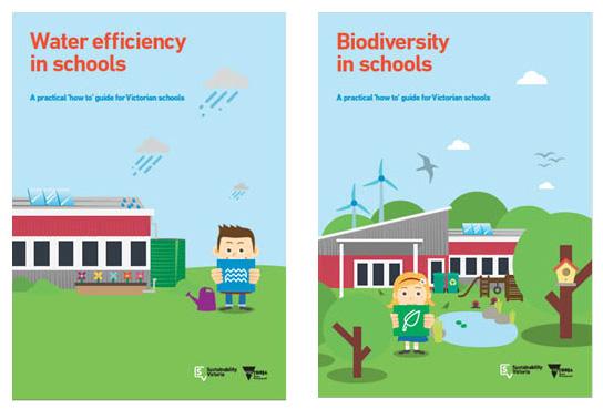 ResourceSmart Schools ' 'How to'guides: ' Water efficiency in schools ' ' Biodiversity in schools '