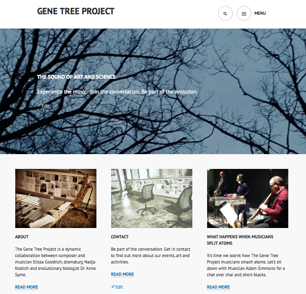 The Gene Tree Project