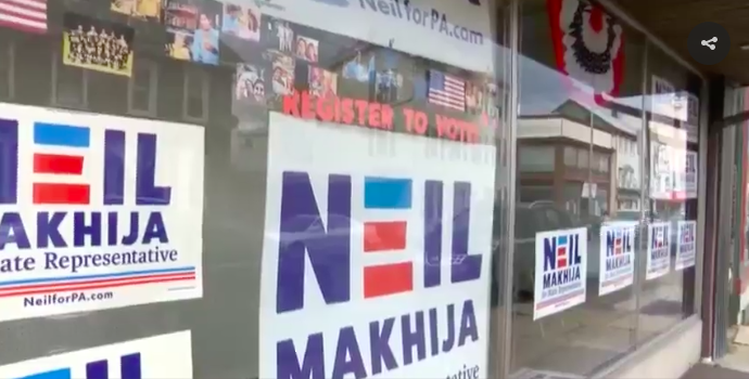 Neil for PA - Lehighton campaign office.