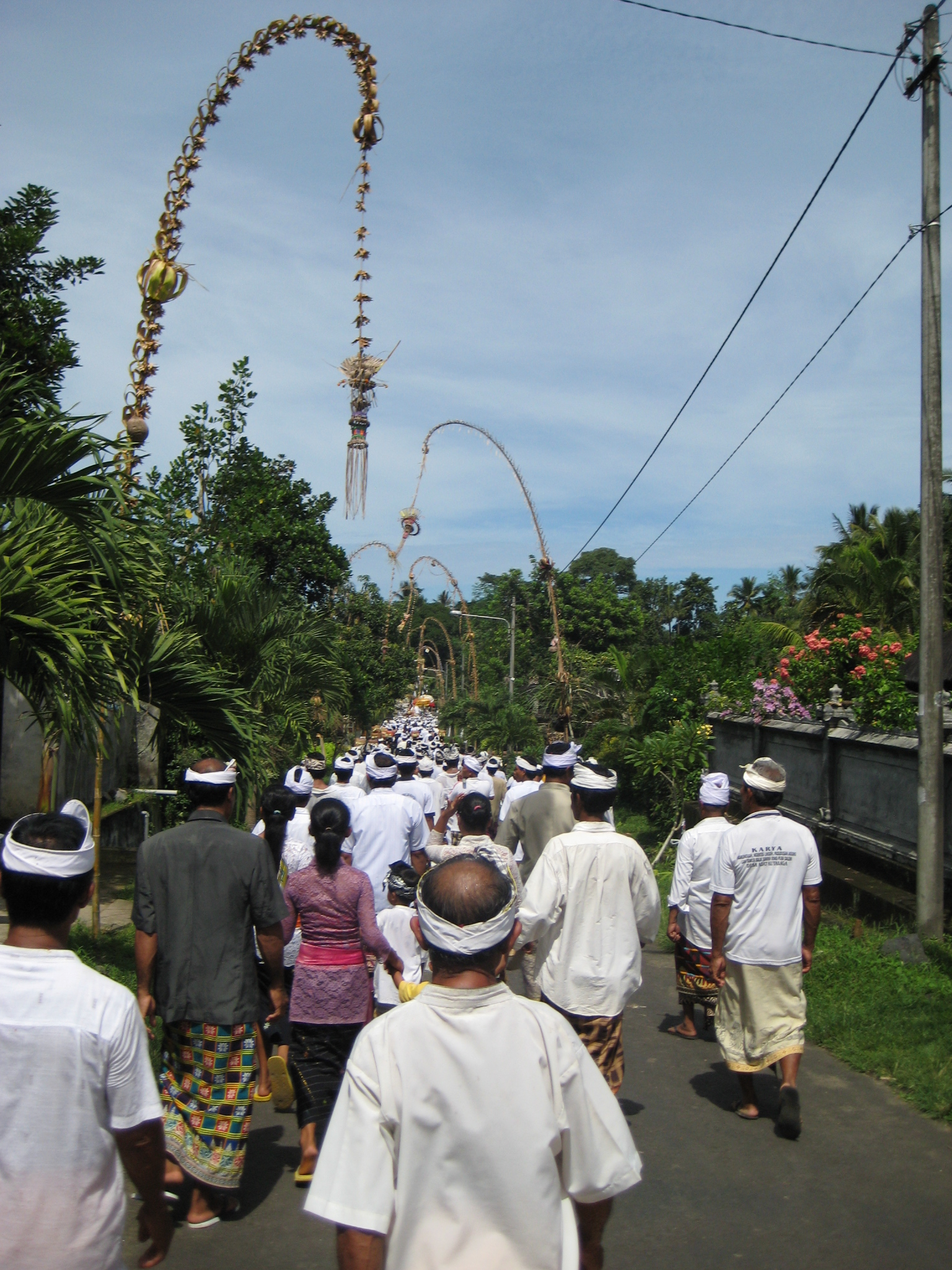 Ceremony walk