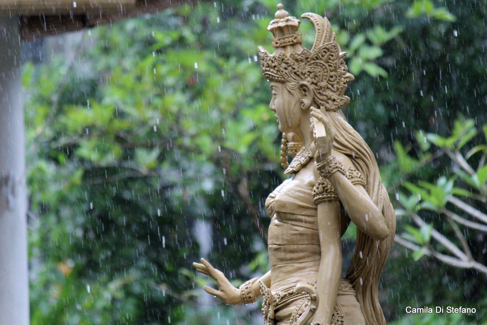 Shiva in the rain