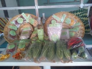Market booth Ubud