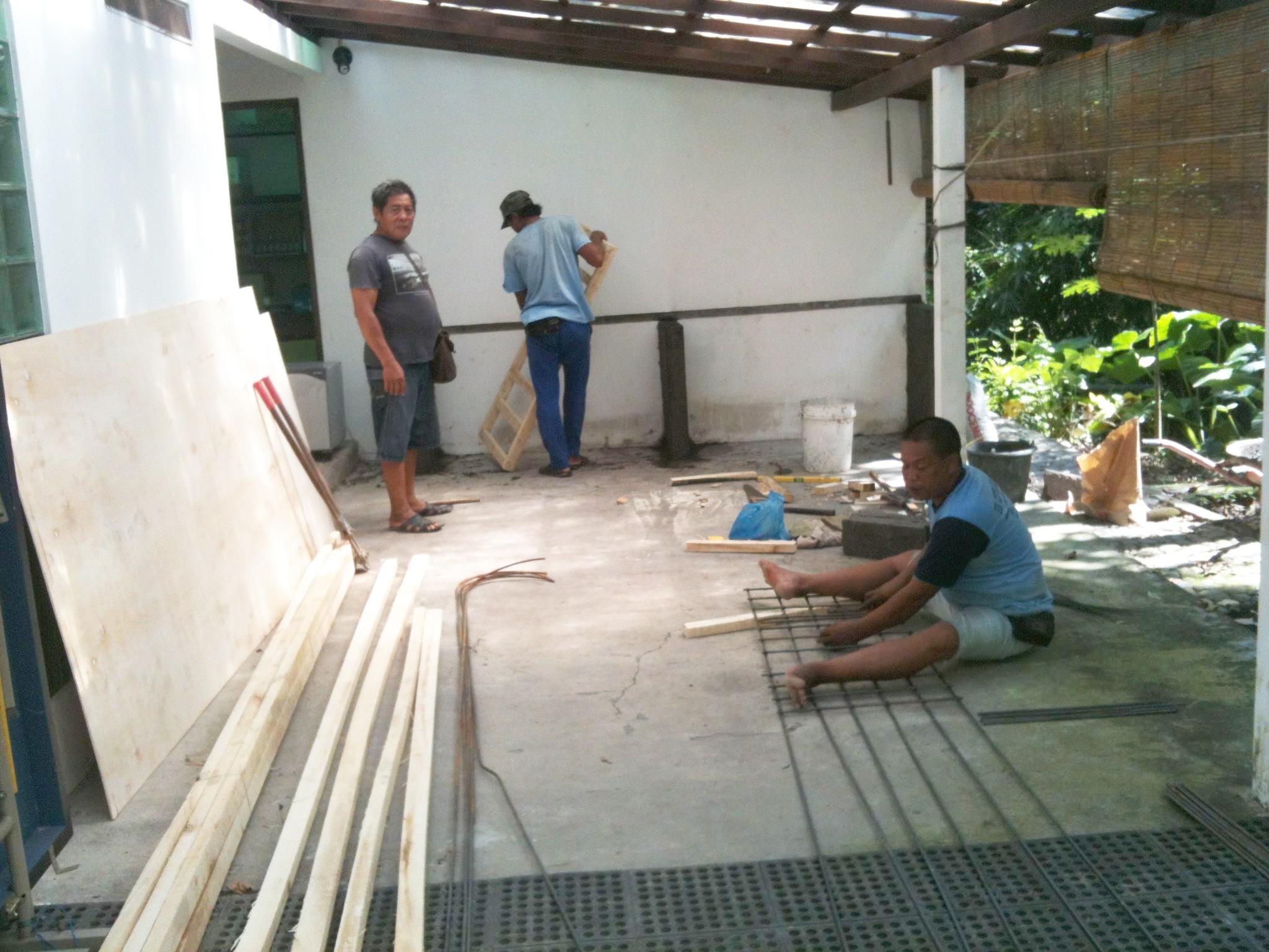 volunteer area