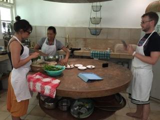 Jiwa Damai cooking