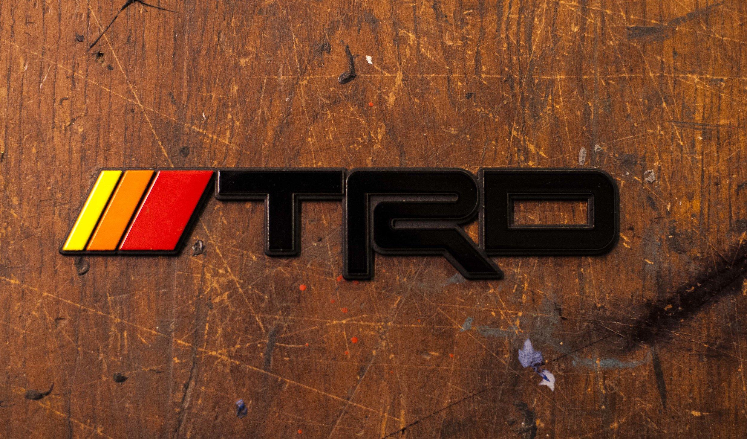 Trd Toyota 4runner Vintage Badge Stainless Steel Kempter Kustoms