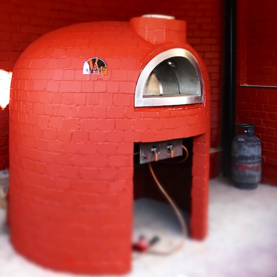 Fixed Brick Oven -