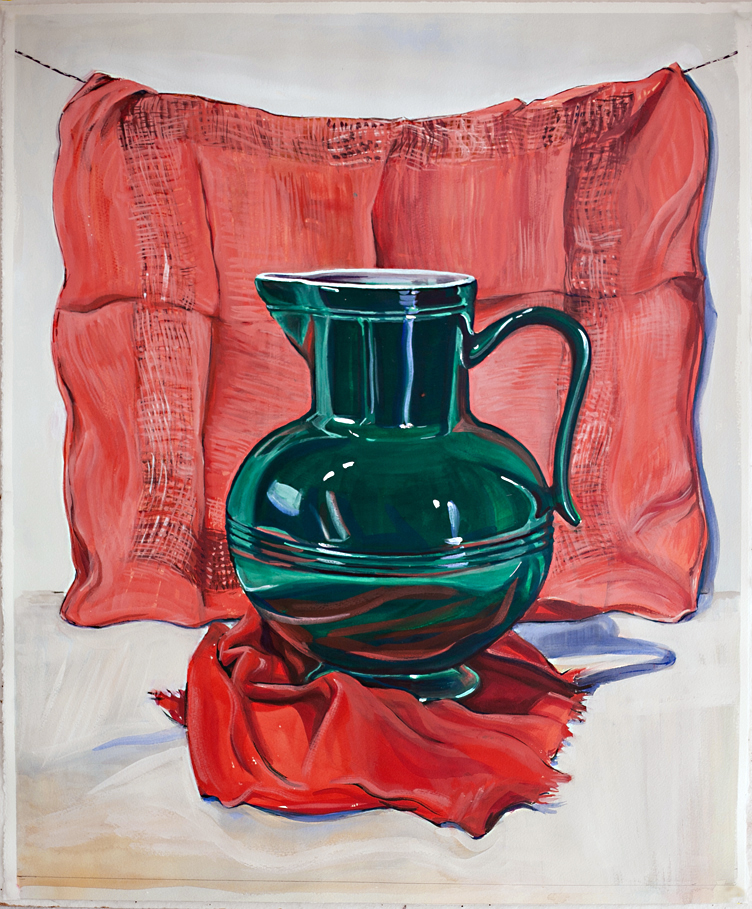 French Jug,   , 2012  , gouache on paper
