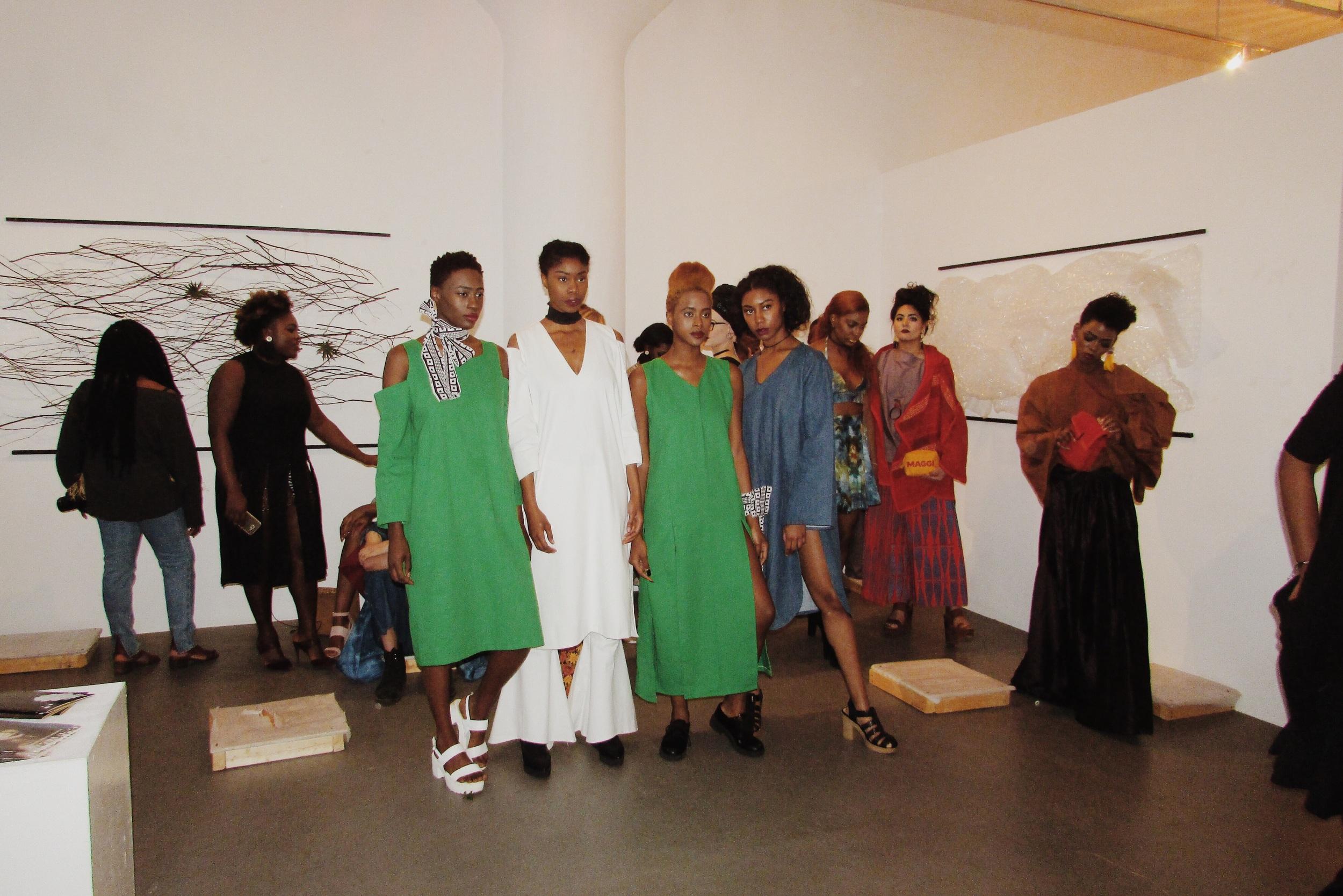 Presentation: #FashionEnvie2016 #FE16 #BeaMondeSociety  Designers: Kahkti, Nyorh Agwe, Fancy Muffin