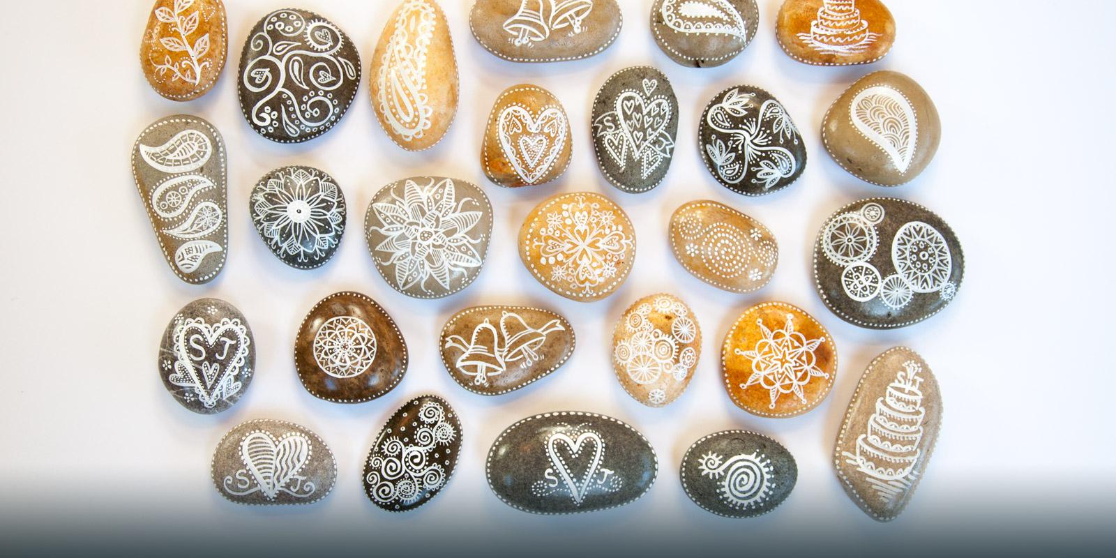 Wedding pebbles