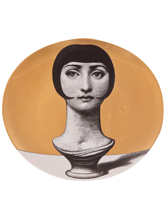 Fornasetti wall plate £225  Liberty of London