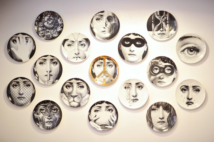 Fornasetti plates From £125  www.selfridges.co.uk