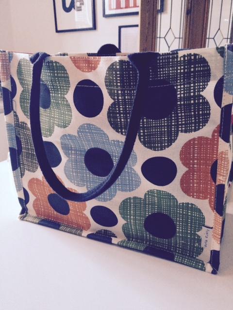 Orla Kiely Sunset flower bag £4.50  www.tesco.com