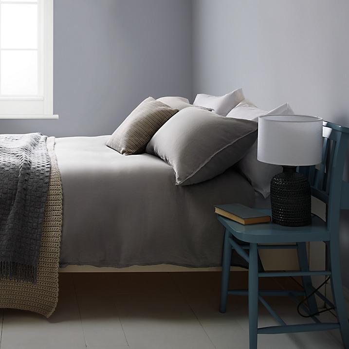 Bala washed linen bedding - £20 - £120  www.johnlewis.com