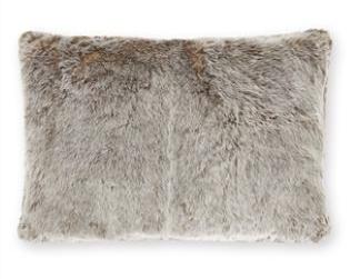 Tonal faux fur cushion £18 www.next.co.uk