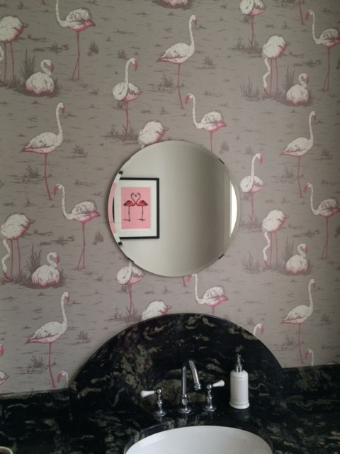 Swans wallpaper by Cole and Son