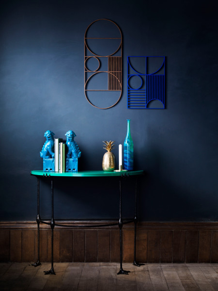 Lacquered top console table by Matthew Williamson