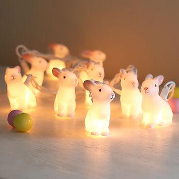 Bunny garland £19.90  www.notonthehighstreet.com