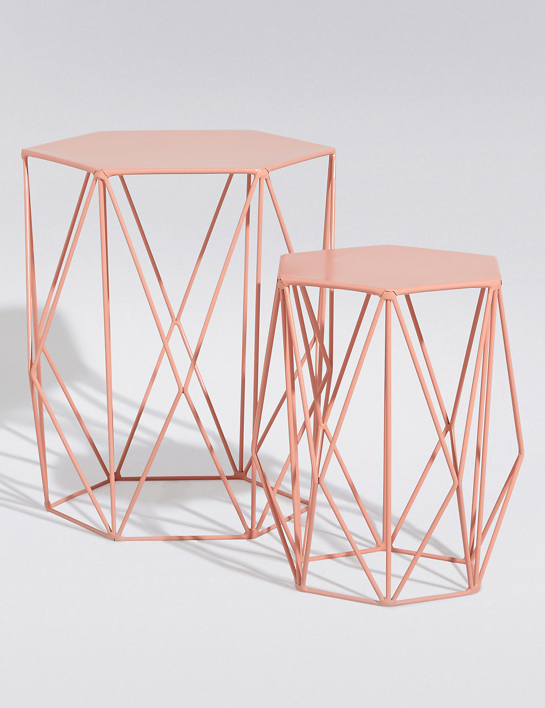 Coral nest of tables £79 currently out of stock*insert cry face emoji here.
