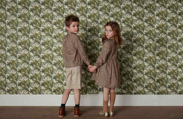 Pardo shirt and Mihura dress in House of Hackney Wildcard print