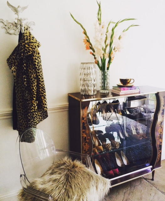 Upcycled drinks cabinet (shoes not included)soon to be available from www.myhousecandy.com