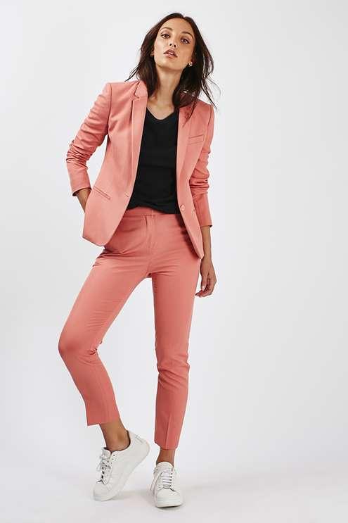 Pink trouser suit £100  www.topshop.com