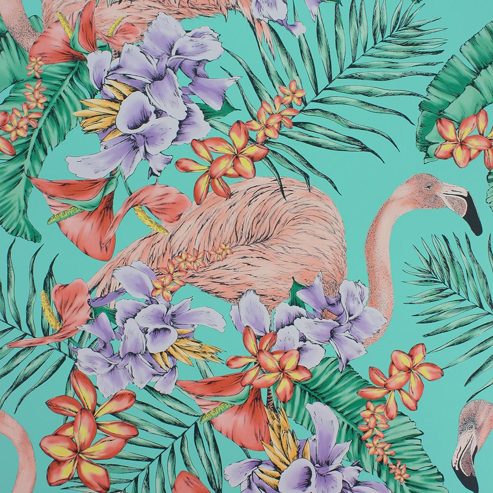 Matthew Williamson Flamingo Club wallpaper from  Amara.com